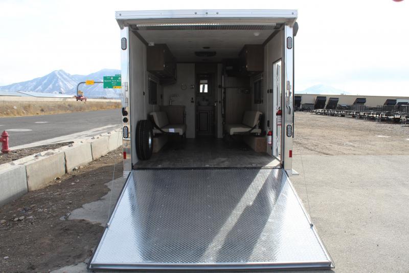 Sundowner Trailers Trail Blazer 85x22 Aluminum Toy Hauler RV