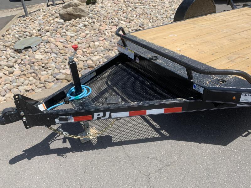 PJ 13' - Single Axle HD Tilt (T1) Equipment Trailer