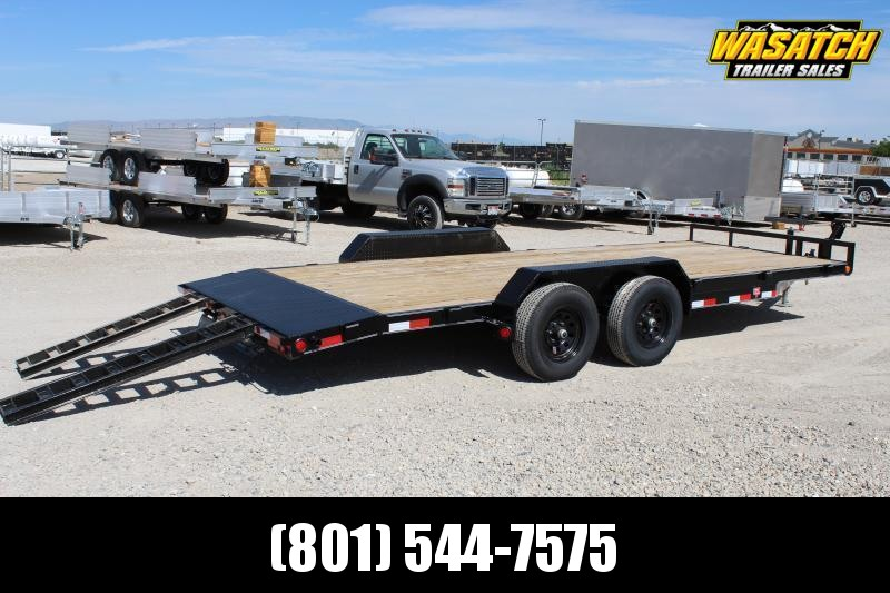 "PJ Trailers 7x16 5"" Channel Carhauler (CE) Equipment Trailer"