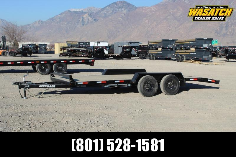 Southland Trailers 7x16 HD Tube Frame Flatbed Trailer