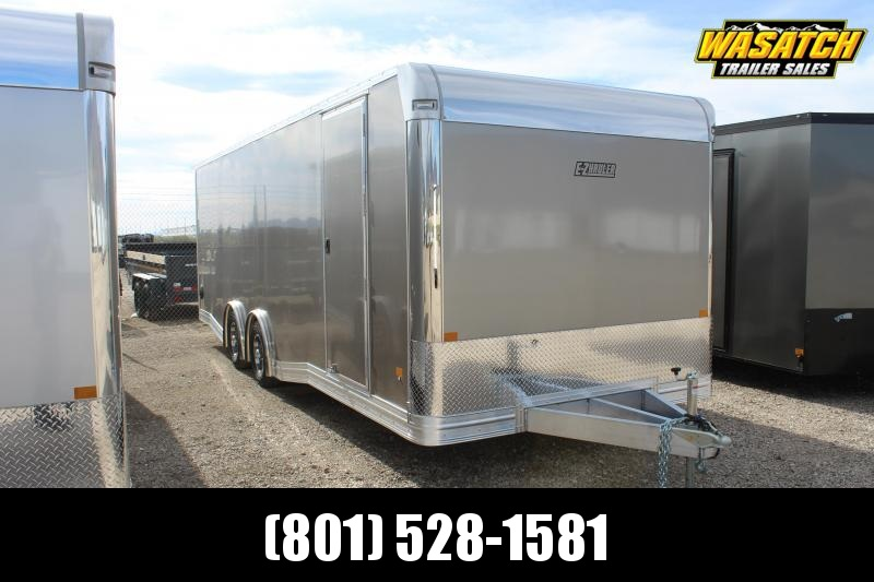 ALCOM 85x24 EzHauler Aluminum Car / Racing Trailer