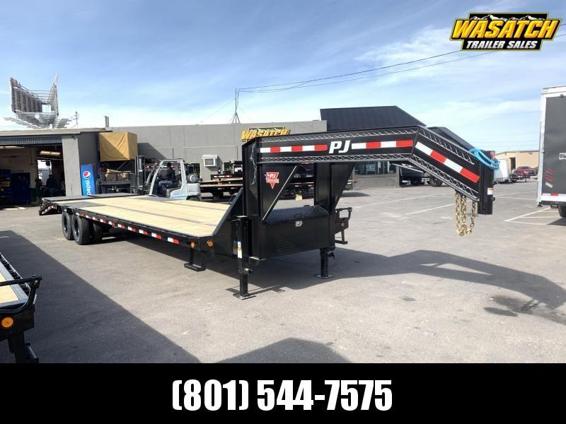PJ 32' (12k Axles) Gooseneck Duals (LD) Flatbed / Flatdeck / Equipment