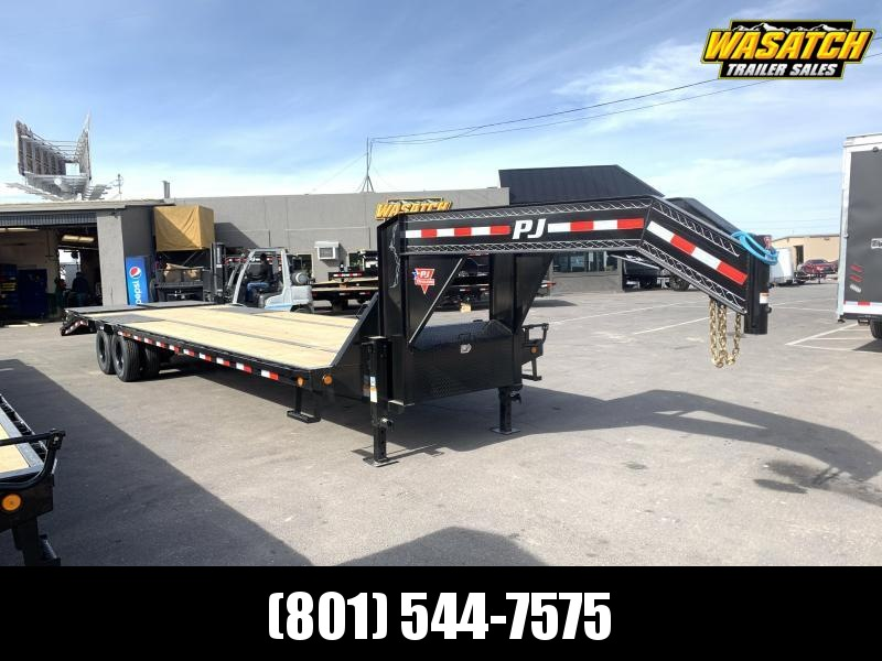 PJ 32' (12k Axles) Gooseneck Duals (LD) Flatbed / Flatdeck / Equipment