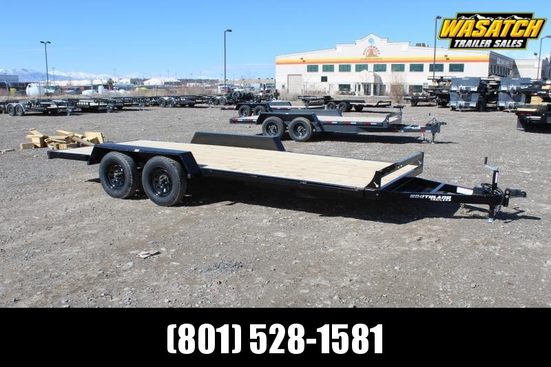 Southland Trailers 7x18 HD Tube Equipment Trailer