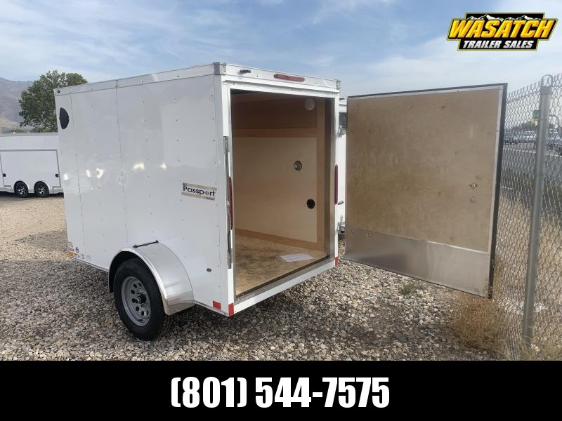 Haulmark 5x8 Passport Enclosed Cargo w/ Door