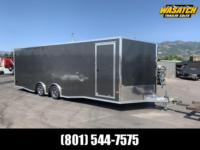 Alcom 8x24 Stealth Aluminum Enclosed Cargo