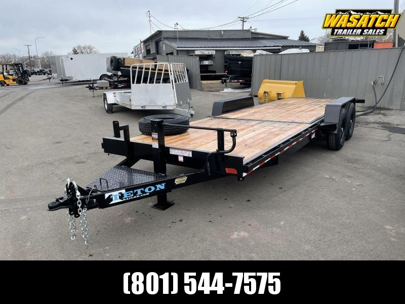 Teton 7x22 HD Tilt Equipment Trailer