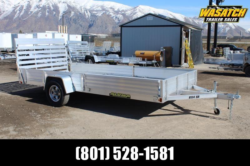 Aluma 8114SR Aluminum Utility Trailer