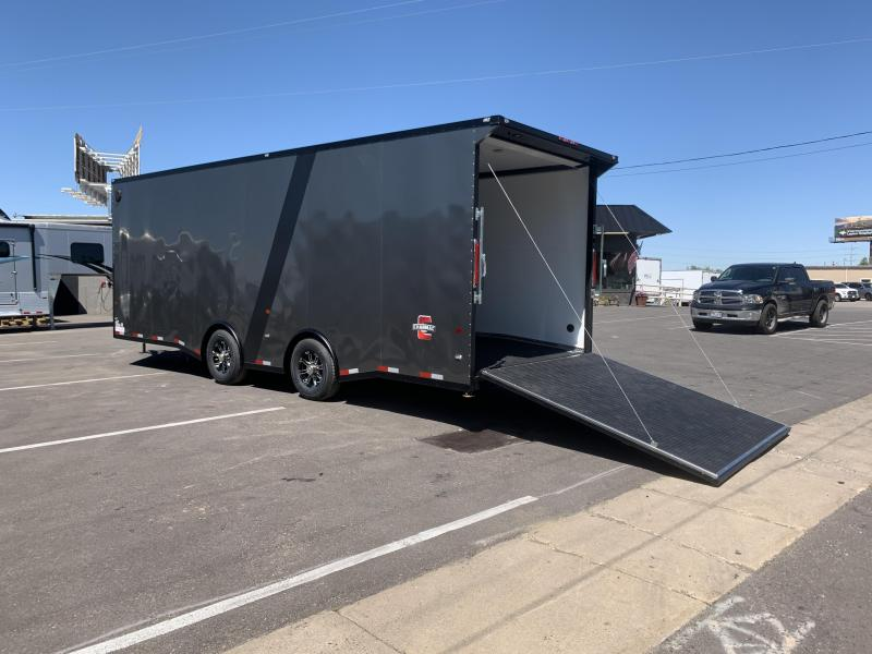 Charmac 100x28 Stealth V Enclosed Cargo