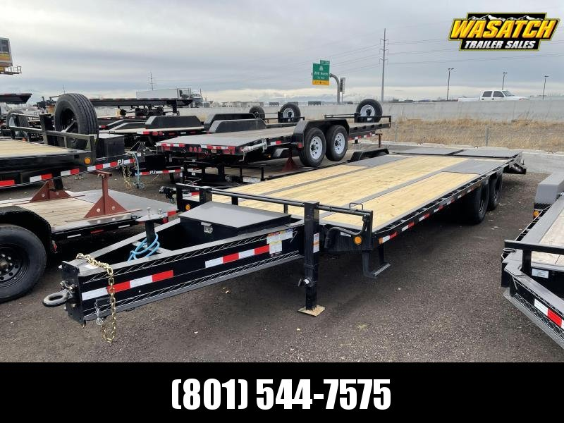 25' PJ Pintle with Duals (PL) Flatbed / Flatdeck / Equipment Trailer