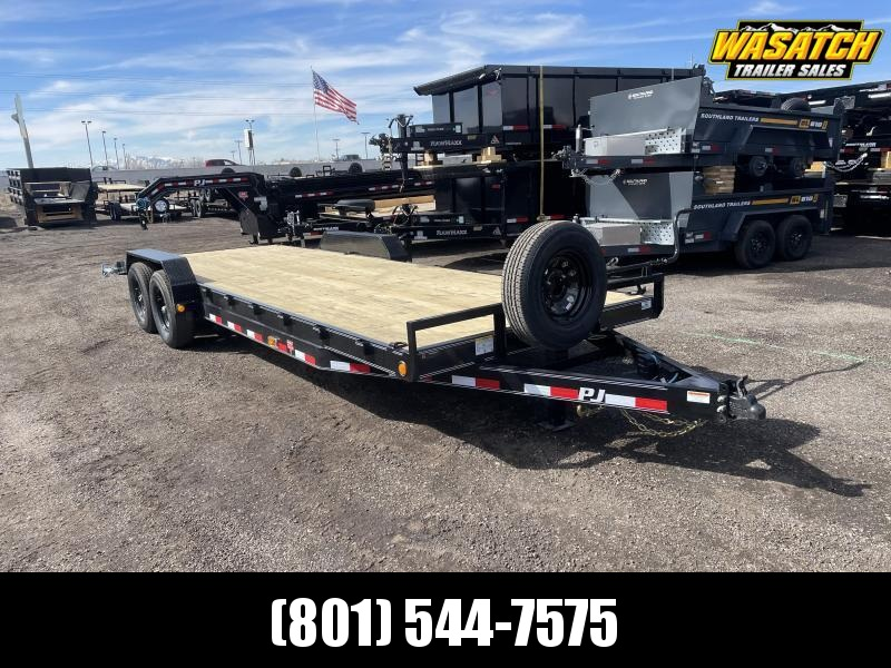 "PJ 7x24 - 6"" Channel (CC) Equipment Trailer"