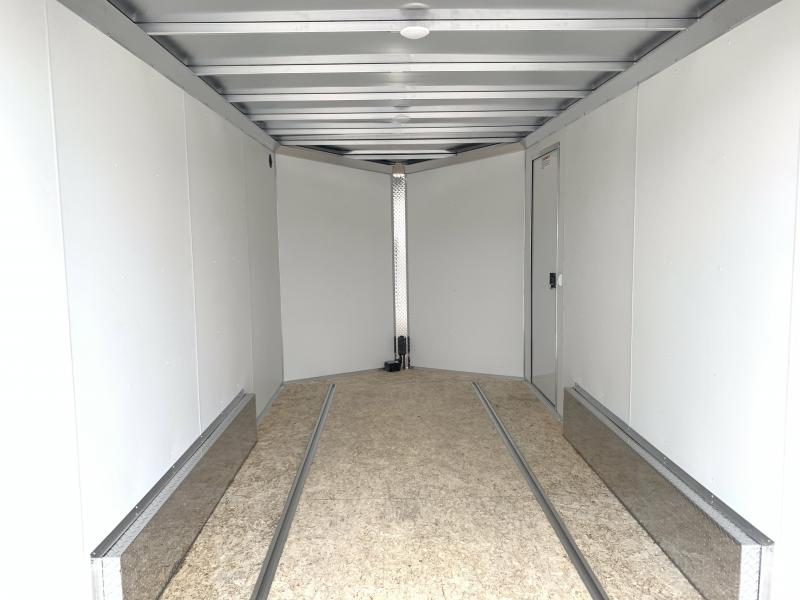 """Alcom-Stealth 7.5x14 Aluminum Enclosed Cargo (7x14 +6""""w)"""