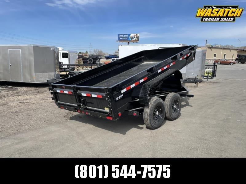 PJ 7x14 Medium Duty (DG) Dump Trailer w/ Tarp