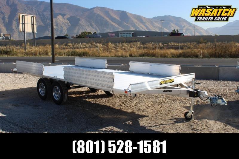 "Aluma 88""x18' Aluminum ATV Utility Trailer"
