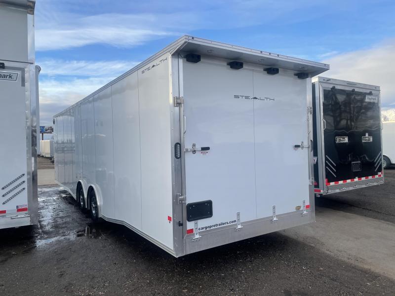 Alcom-Stealth 8.5x30 Aluminum Enclosed Cargo