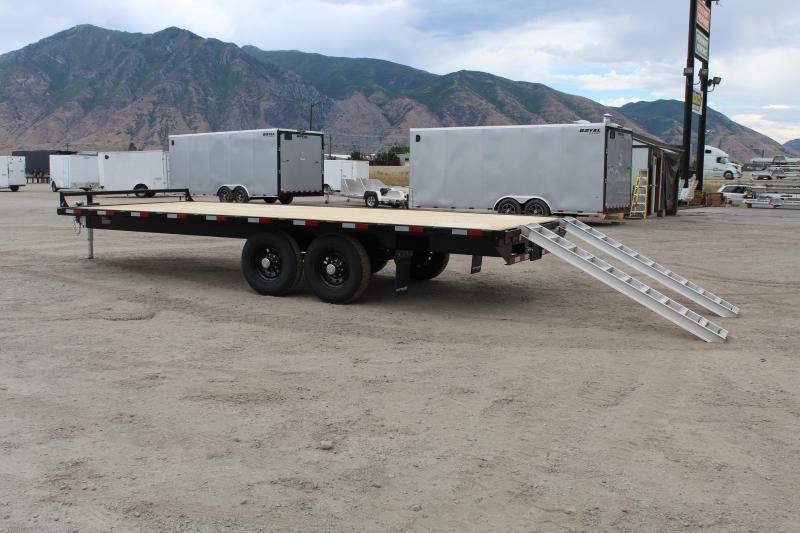 Southland Trailers 85x22 HD Tube Deckover Equipment Trailer