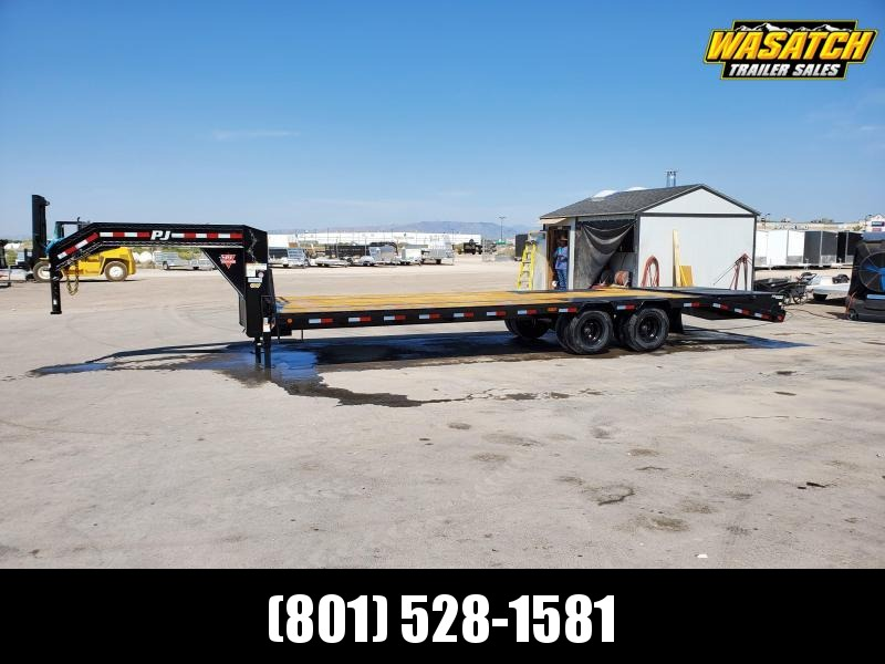 PJ Trailers 85x25 Low-Pro Flatdeck With Duals (LD) Flatbed Trailer