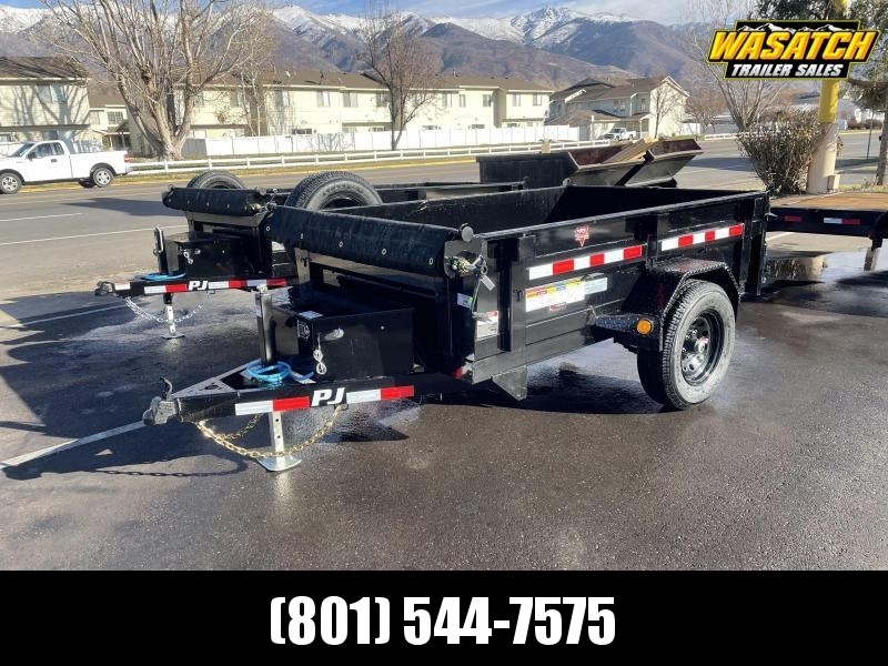 PJ Single Axle 5x8 Utility Dump (D5)