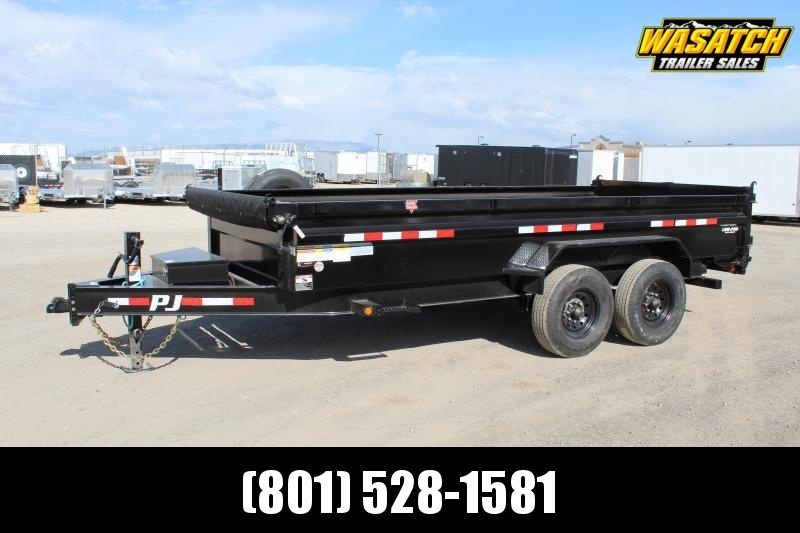 PJ Trailers 7x16 Low-Pro (DL) Dump Trailer