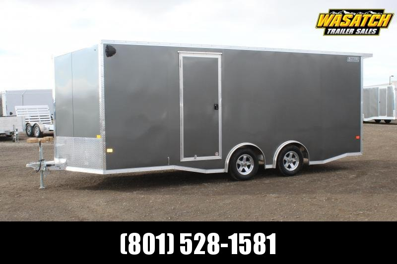 ALCOM 85x20 EzHauler Aluminum Enclosed Cargo Trailer