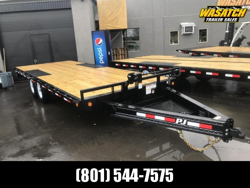 PJ 18 ft - 8 in. I-Beam Deckover (F8) Flatbed