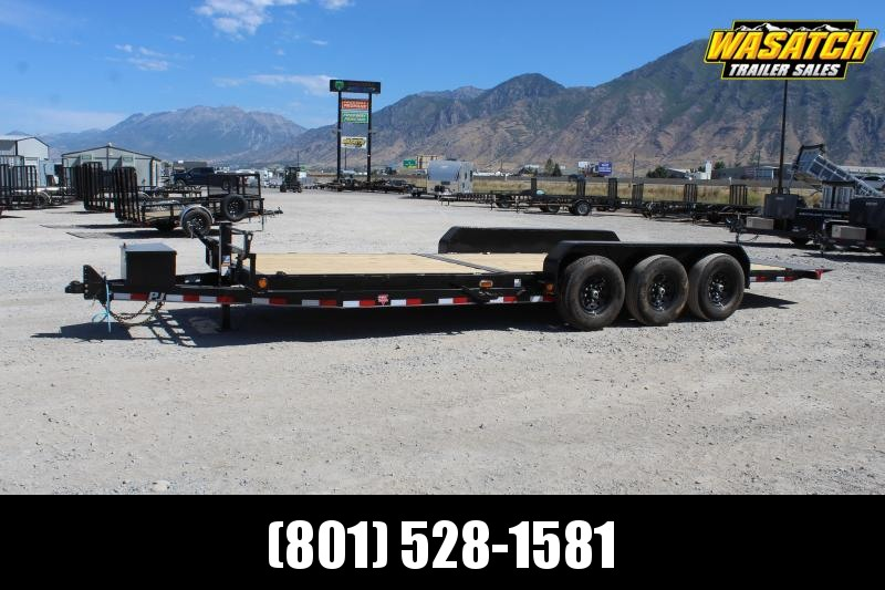 "2021 PJ Trailers 7x24 6"" Channel Equipment Tilt (T6) Equipment Trailer"