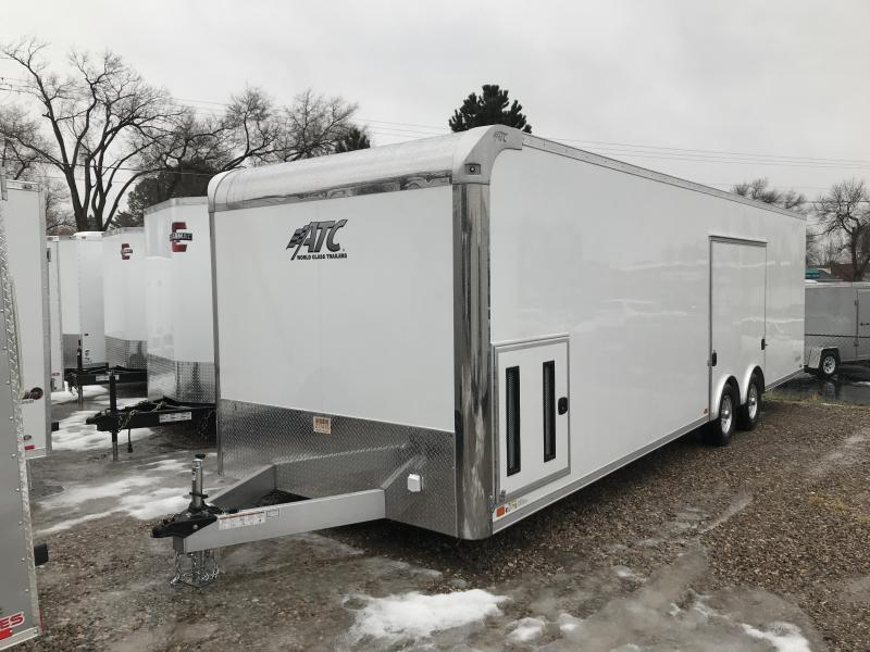 2019 ATC 28' Raven Enclosed Cargo Trailer