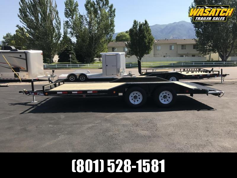 "PJ Trailers 8.5x16 5"" Channel  (B5) Buggy Hauler"