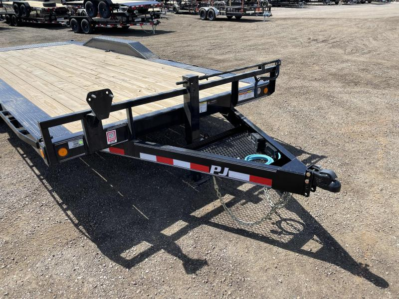 PJ 20' - 6 in. Channel Super-Wide (B6) Car / Racing Trailer