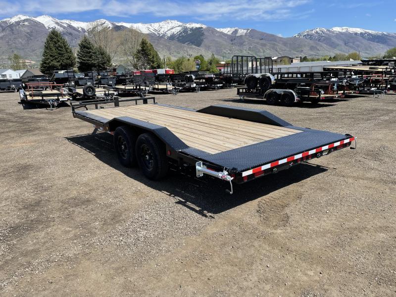 PJ 20' - 6 in. Channel Super-Wide (B6) Car / Racing Trailer
