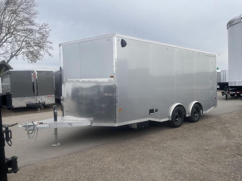 Alcom 8.5x18 Stealth Aluminum Enclosed Cargo Trailer