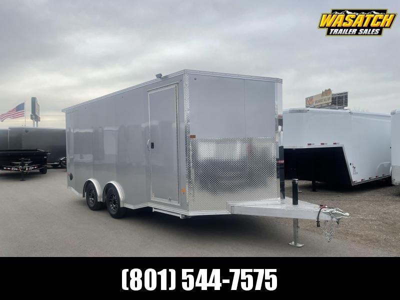 Alcom 8.5x18 Stealth Aluminum Enclosed Cargo Trailer