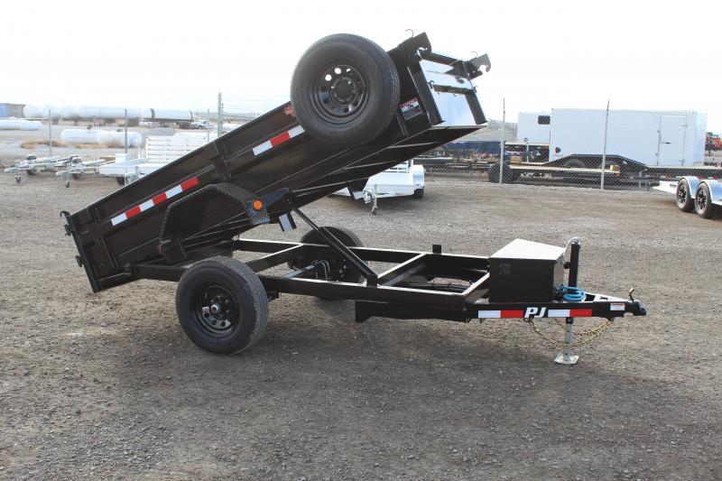 "PJ Trailers 5x10 60"" Utility (D5) Dump Trailer"