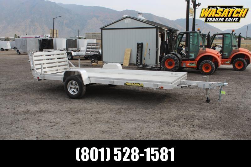 Aluma 6814H Aluminum Utility Trailer