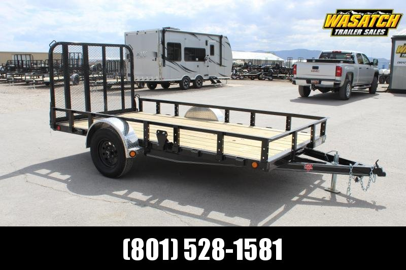 PJ Trailers 6.5x12 Single Axle Channel (U7) Utility Trailer