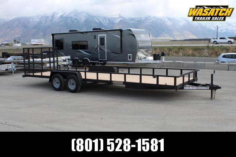 ***Charmac Trailers 7x24 Rugged Utility Trailer w/ Tube Frame***