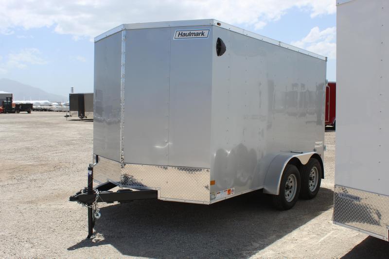 Haulmark 7x12 Passport Deluxe Enclosed Cargo Trailer