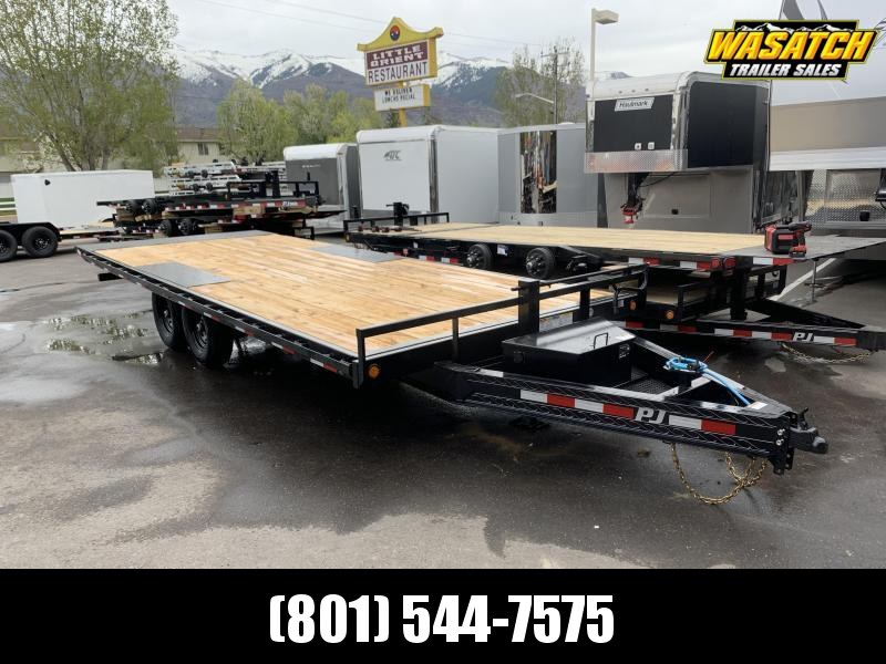 PJ 22' Deckover Tilt (T8) Equipment Trailer