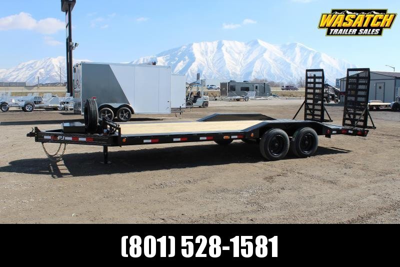 "PJ Trailers 8.5x22 8"" Pro-Beam Super-Wide (H6) Equipment Trailer"