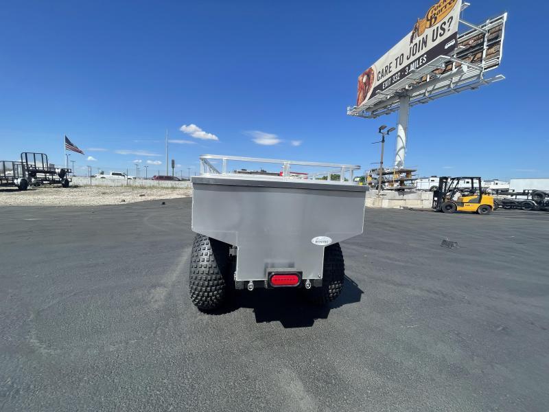 Bosski - 1600 Aluminum Wagon / ATV / UTV Utility Trailer