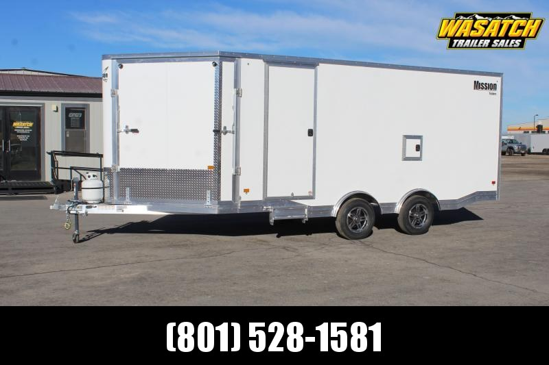 Mission 85x23 Allsport Peak Value Snowmobile Trailer