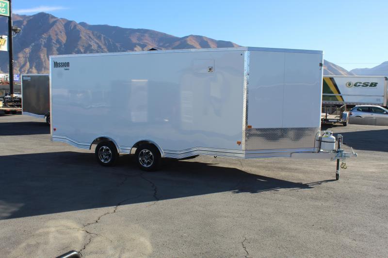 Mission 85x23 Allsport Peak Value Snowmobile Trailer