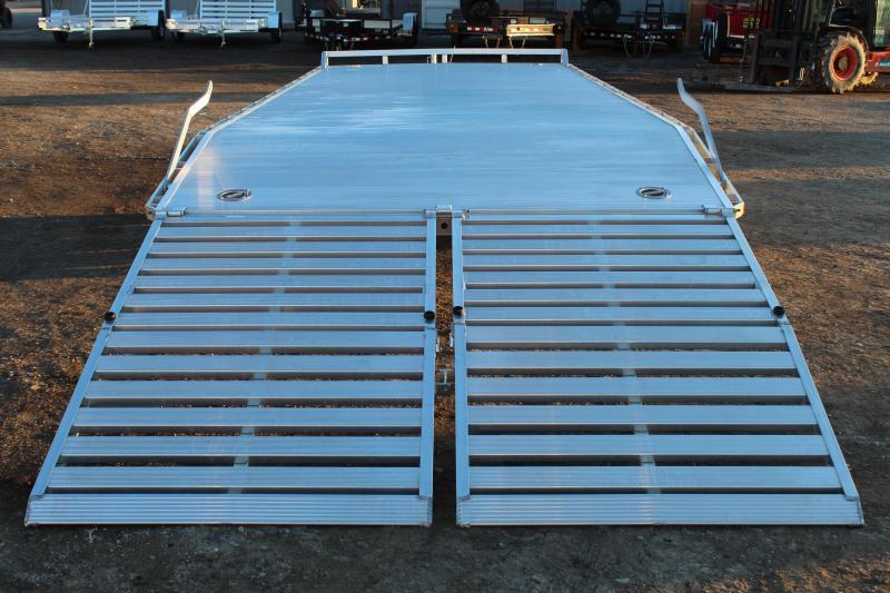 Aluma 8.5X24 Aluminum Deckover Utility Trailer