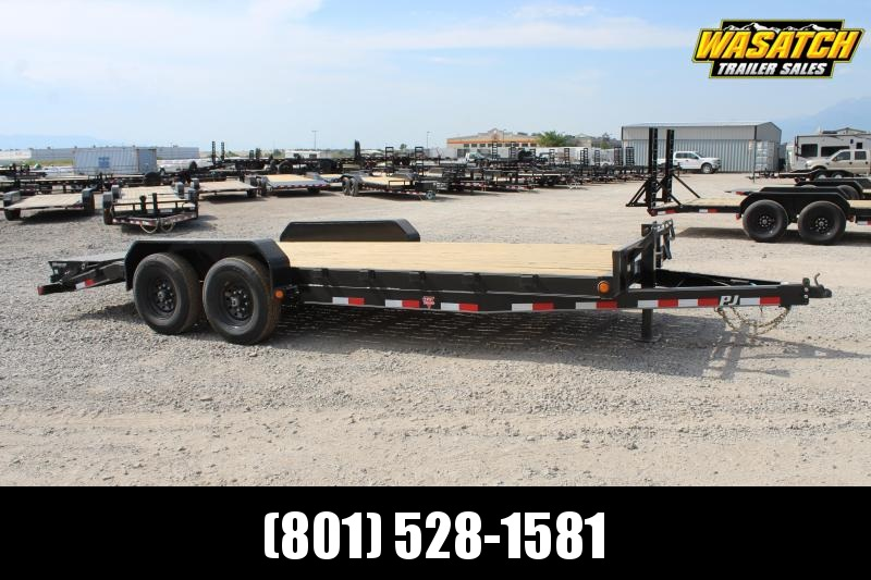 "PJ Trailers 7x20 6"" Channel (CC) Equipment Trailer"