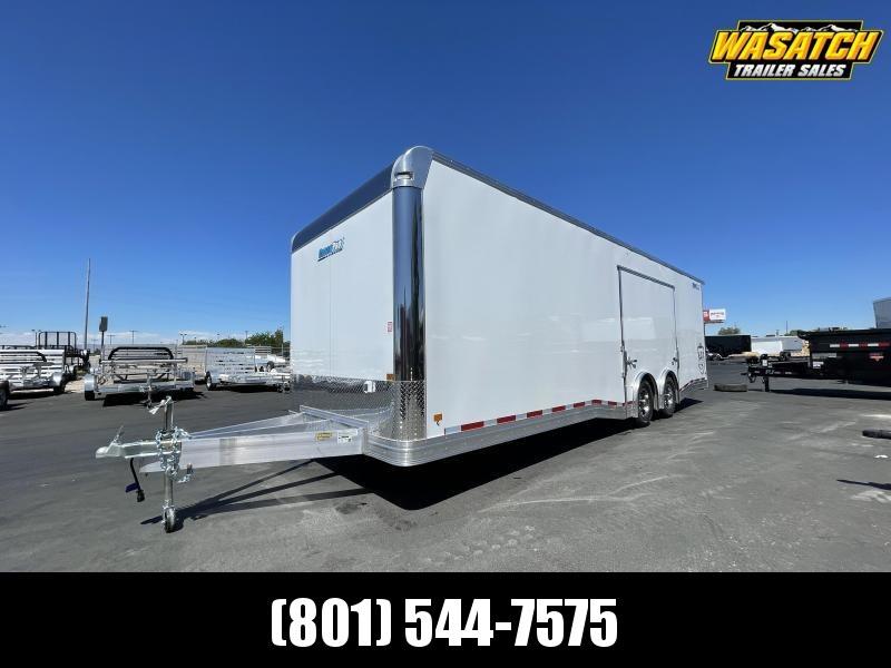 CargoPro 8.5x28 Aluminum Pinnacle Enclosed Car Hauler Trailer