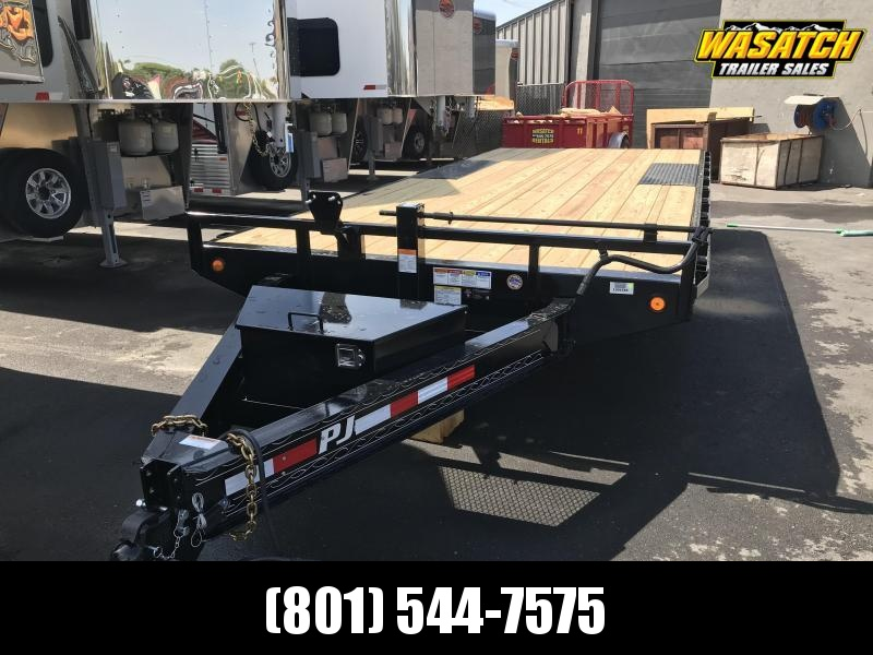 2019 PJ Trailers 20ft F8 Equipment Trailer