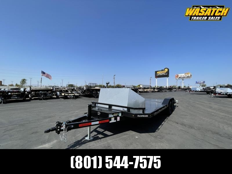 RawMaxx - 7x20 - Car Hauler / Equipment / Flatbed / Flatdeck