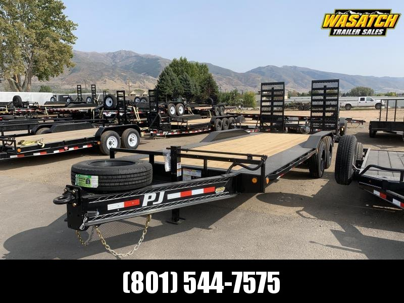 "PJ 22' - 10"" Pro-Beam Super-Wide Equip (H7) Equipment Trailer"