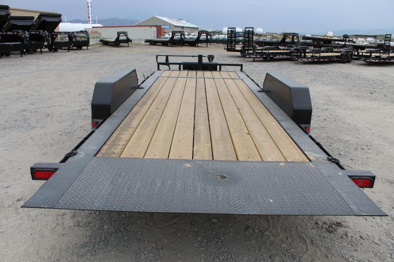 PJ Trailers 7x20 HD Equipment Tilt 6 Channel TJ Equipment Trailer