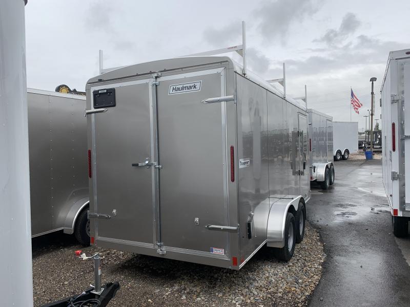 2019 Haulmark 7x16 Transport Enclosed Cargo Trailer w/ Contractor Package